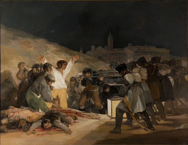 The Third of May 1808 of Goya Museo del Prado