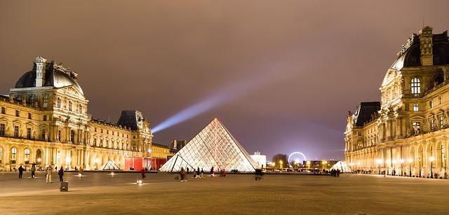 Louvre Museum, external view