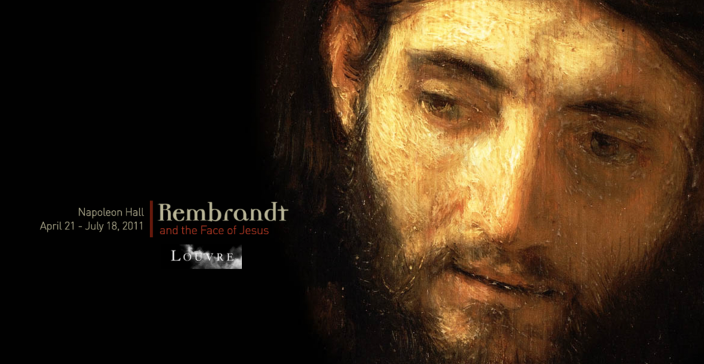 Mini-site dedicated to a temporary exhibition on Rembrandt