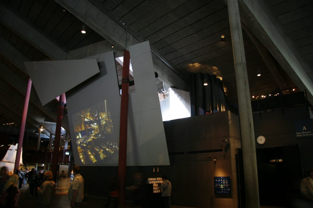 Interactive exhibition Vasa Museum in Stockholm