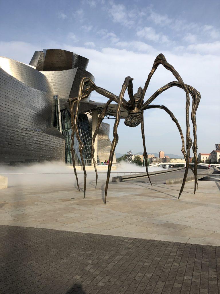 Maman by Louise Josephine Bourgeois Guggenheim Bilbao